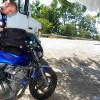 1000 km across Bulgaria on a motorbike | Photo Story
