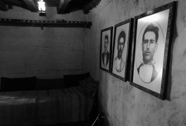 Portraits of Levski, Nikola Tsvyatkov and Hristo Tsonev