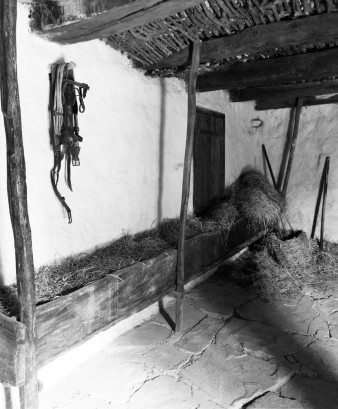 Replica of the original stables