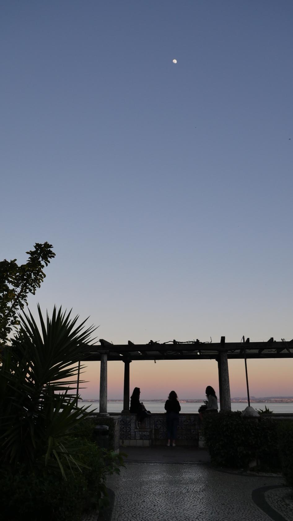 Moon, sunset & sweet talk | Shot on Lumix GX8