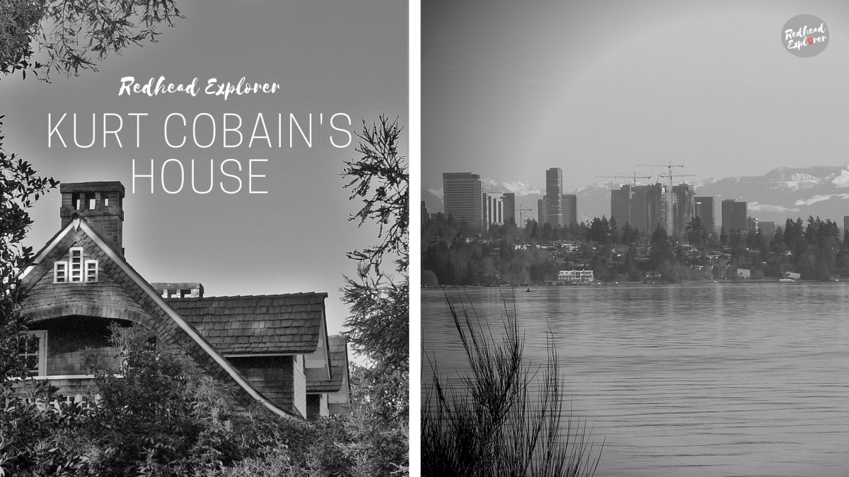Seattle Memories| Seeing Kurt Cobain's house by Lake Washington